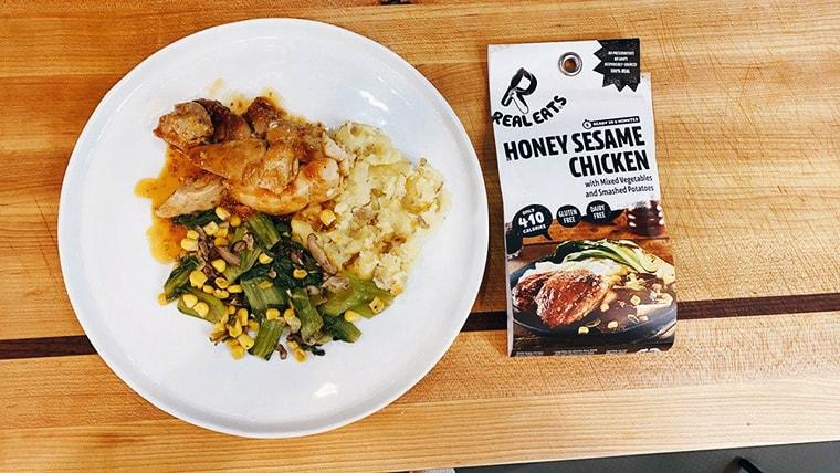 ReaEats Meals Honey Sesame Chicken