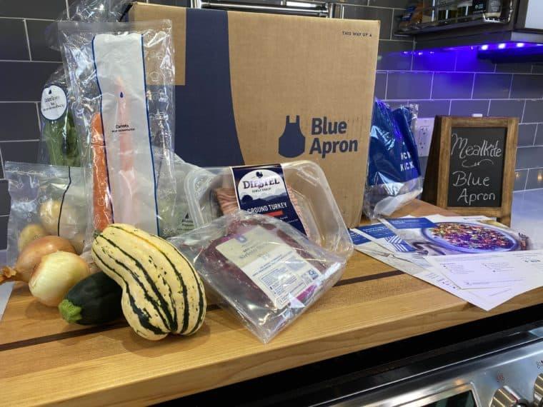 Blue Apron ingredients